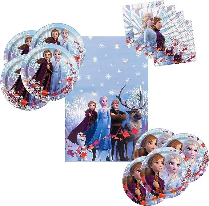 Pack of 16 Disney Frozen Anna Elsa Paper Napkins Serviettes