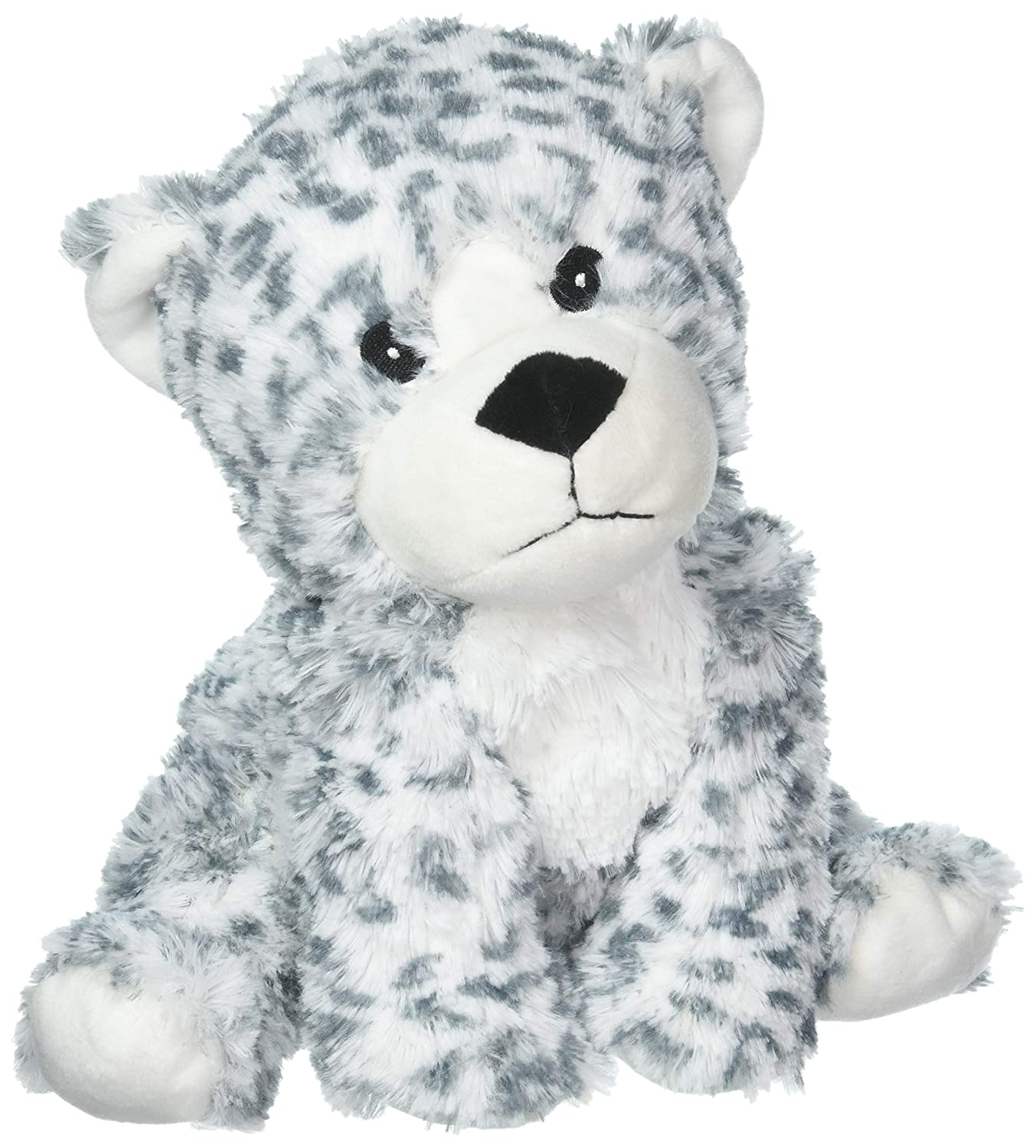 Intelex Cozy Microwaveable Plush Snow Leopard - Lavender Scented
