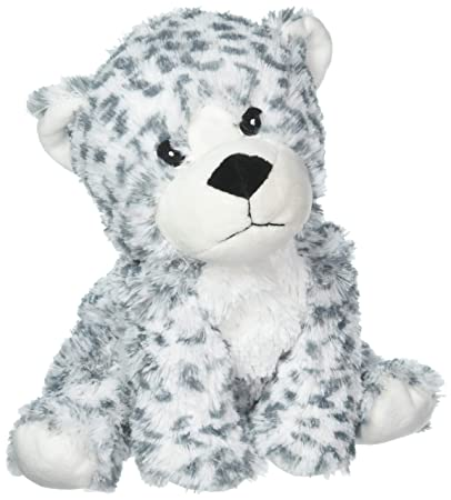 Amazon Com Intelex Cozy Microwaveable Plush Snow Leopard Lavender