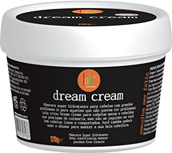 Linha Dream Cream Lola - Mascara Super Hidratante Para Cabelos Com Grandes Problemas 120 Gr -