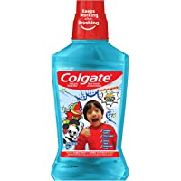 Colgate Kids Mouthwash, Ryan's World, Ryan's Bubble Fruit, 500 Milliliters