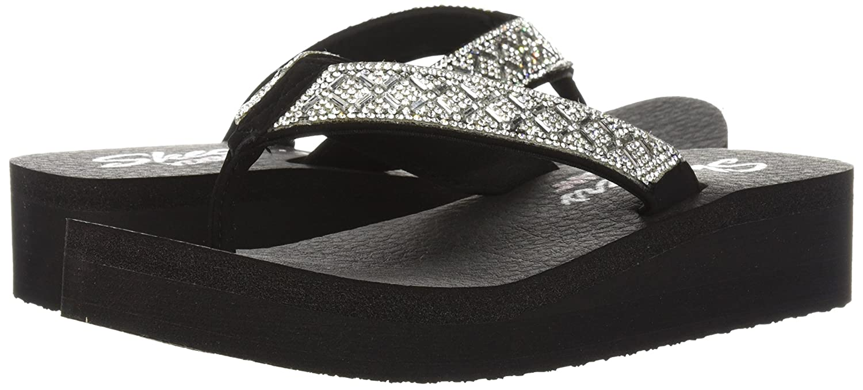 43f5a0d39e3b Skechers Womens Vinyasa - Lotus Princess Flip-Flop  Amazon.ca  Shoes    Handbags