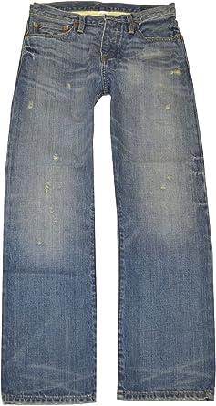 Amazon Com Polo Ralph Lauren De Rugby Para Hombre Vintage Denim Blue Jeans Polo Classic Fit Pantalones 30 30 Clothing