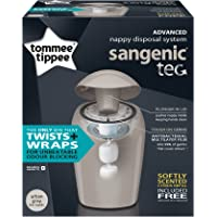 TOMMEE TIPPEE Sangenic Tec Tub with One Refill, Grey
