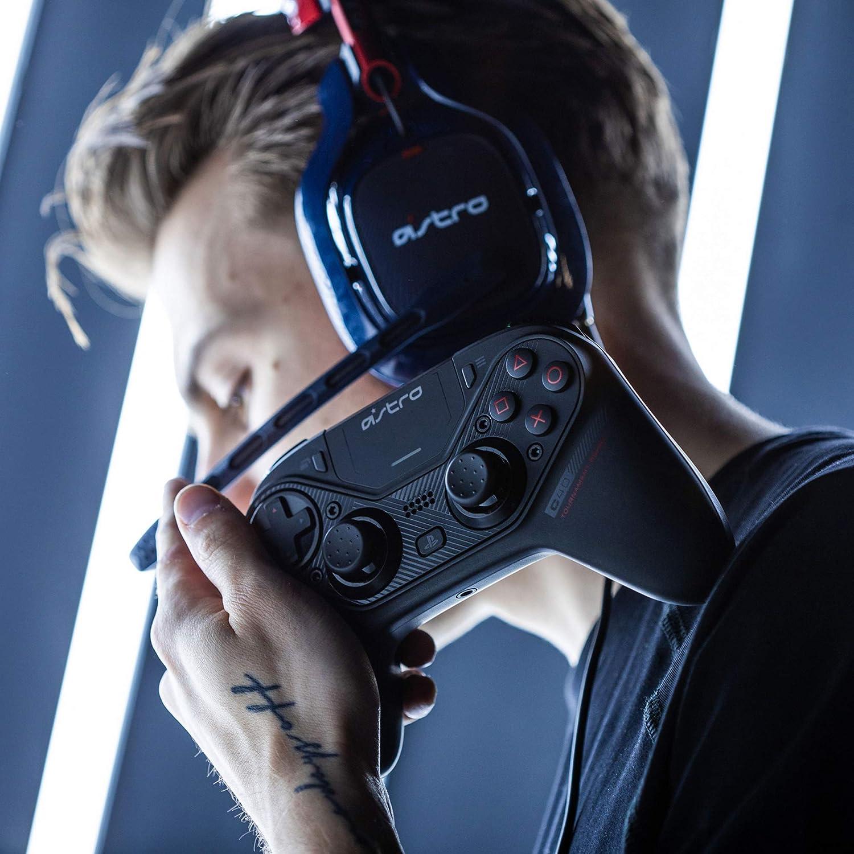Astro C40 TR - Mando inalámbrico Profesional Totalmente Personalizable para Jugadores de élite, Compatible con Playstation 4 y PC