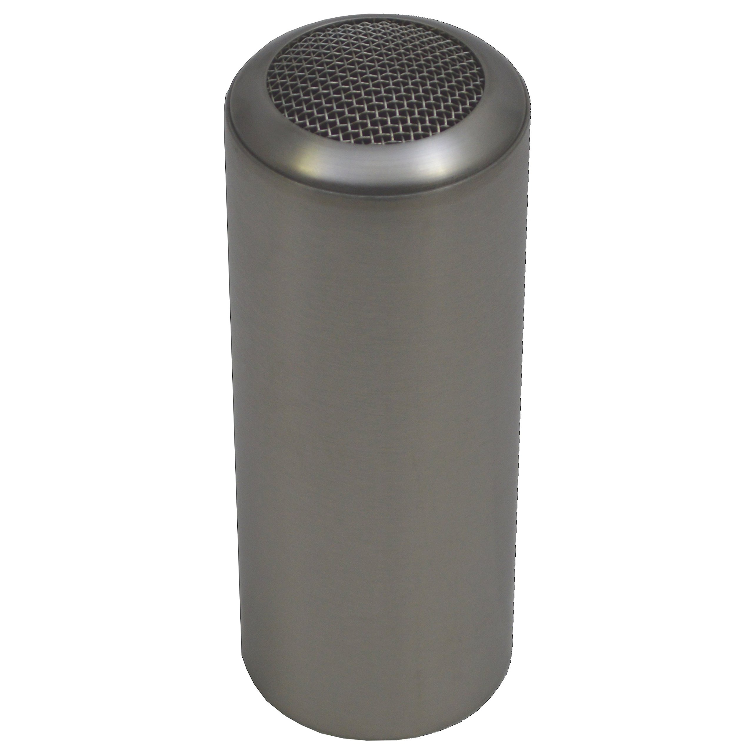 Service Ideas STCMESH Condiment Shaker, Mesh Top, Stainless Steel