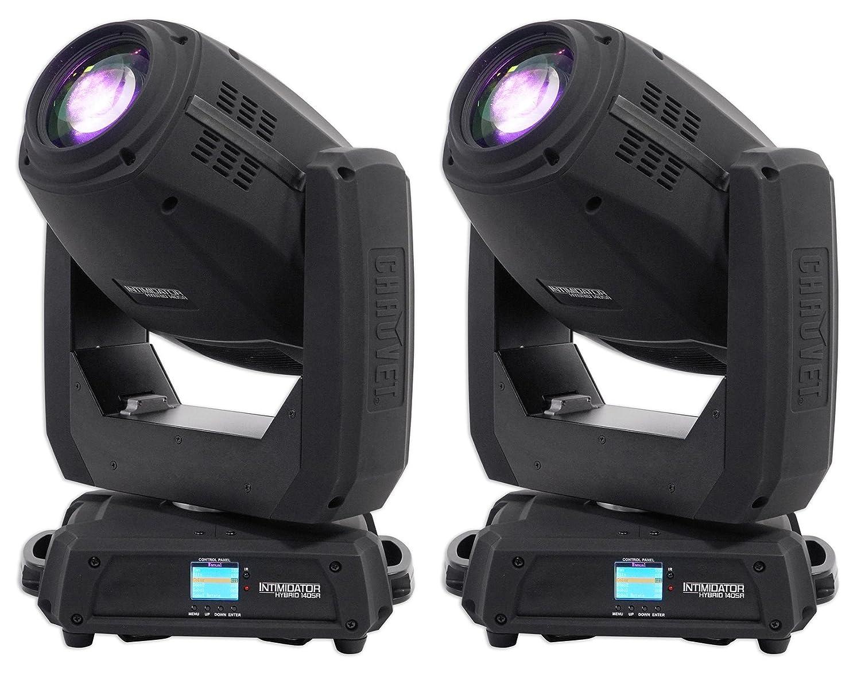 Amazon com 2 chauvet dj intimidator hybrid 140sr moving head beam