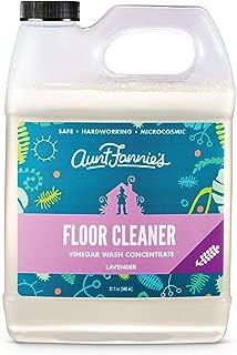 product image for Aunt Fannie's Floor Cleaner Vinegar Wash - Multi-Surface Cleaner, 32 oz. (Single Bottle, Lavender)