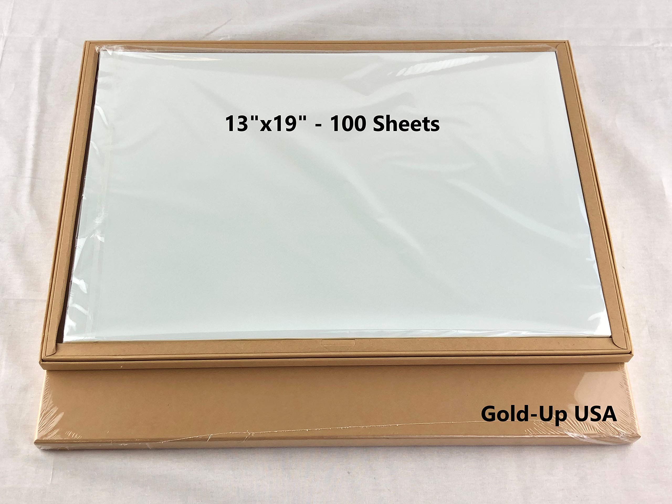 13 x 19 Inch Waterproof Inkjet Transparency Film for Silk Screen Printing - 1 Pack (100 Sheets)