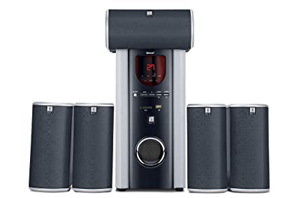 ef6eb05df iBall Booster BTH 5.1 Channel Multimedia Bluetooth Speakers  Amazon ...