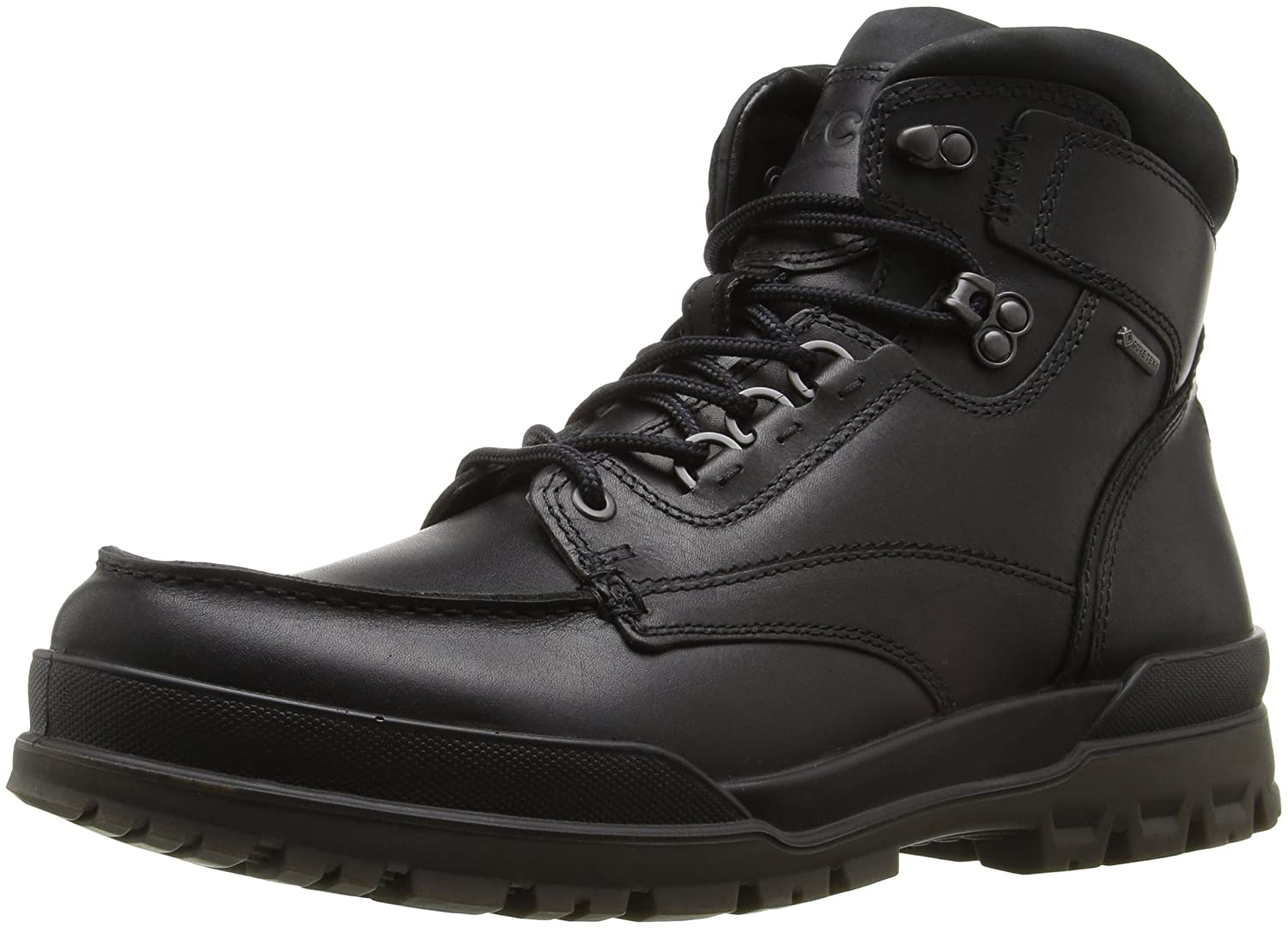Amazon.com | ECCO Men's Track 6 Gore-Tex Moc Toe High Winter Boot | Boots