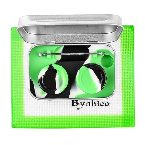 Amazon.com: bynhieo lata DAB contenedor de cera Kit de ...