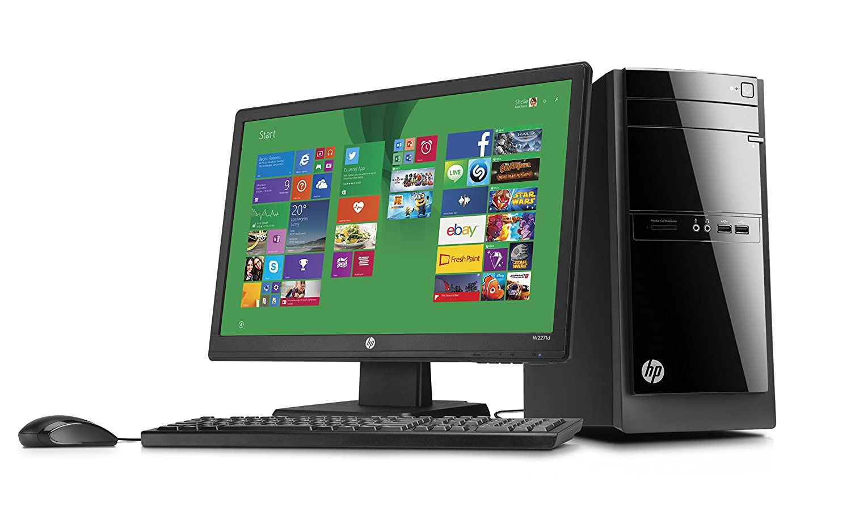 HP 110-550nam Desktop PC Bundle - Ordenador de sobremesa: Amazon.es: Informática