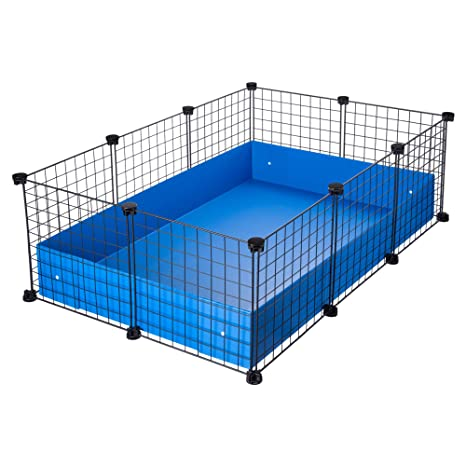 CagesCubes - Jaula CyC Medium (2X3 Paneles en Negro) + Base de ...