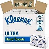 Kleenex 6777 Toallas Secamanos Interplegadas, 30 Paquetes X 124 de 2 Capas, Mediano,