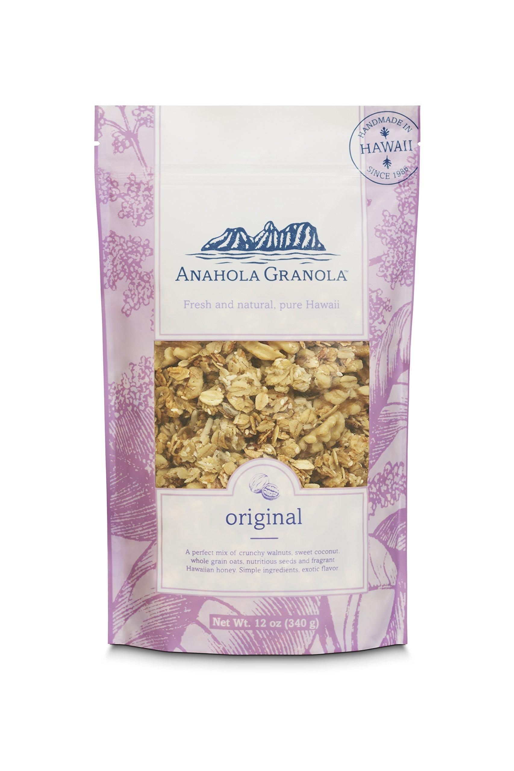 Anahola Granola, Tropical Granola, 12 oz: Amazon.com: Grocery ...