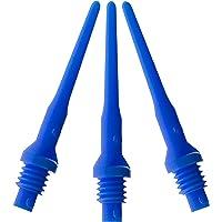 Accesorio para Dardos Viper TufflexII 2BA Hilo Suave Puntas para Dardos (100 y 500 Paquetes)