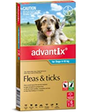 Advantix Pet Meds Dog 4-10Kg Aqua 6