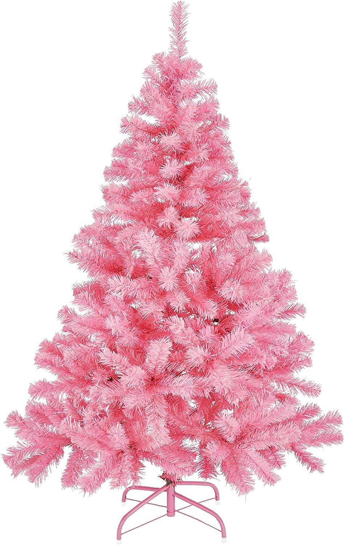 150 cm Gravidus Albero di Natale artificiale in plastica colore: rosa