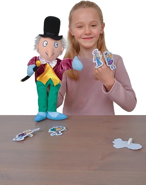Fiesta Crafts T-2911 Roald Dahl BFG and Sophie Hand and Finger Puppet Set