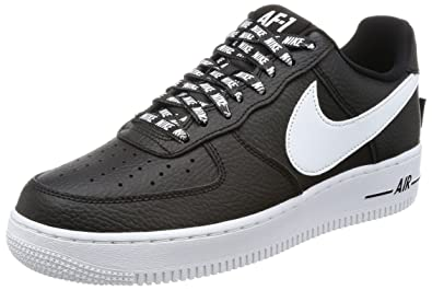 brand new f7239 1e49b ... order nike mens air force 1 07 lv8 black white basketball shoe 13 19ff3  1195b