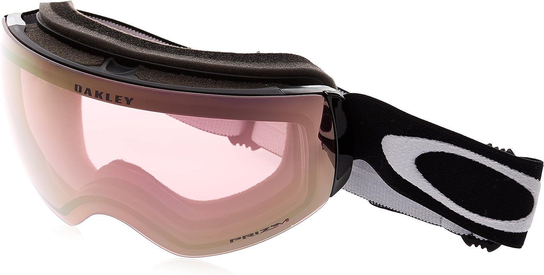 Oakley Flight Deck XM Snow Goggles, Matte Black, Prizm Hi Pink, Medium