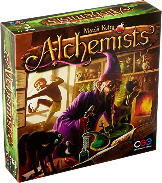 Czech Games Edition - Juego de Estrategia Alchemists para 2 - 4 ...