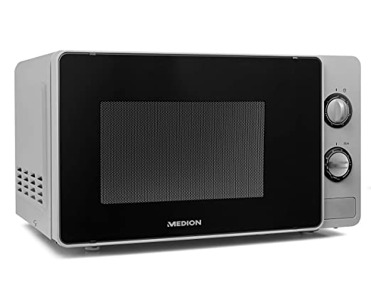 MEDION MD18691 Microondas con grill, 800 W, 20 litros ...