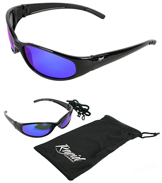 Rapid Eyewear hombres y mujer GAFAS DE SOL FLOTANTES Polarizadas para pesca, deportes nauticos, remo, surf de vela, navegación. Gafas de sol Flotador con ...