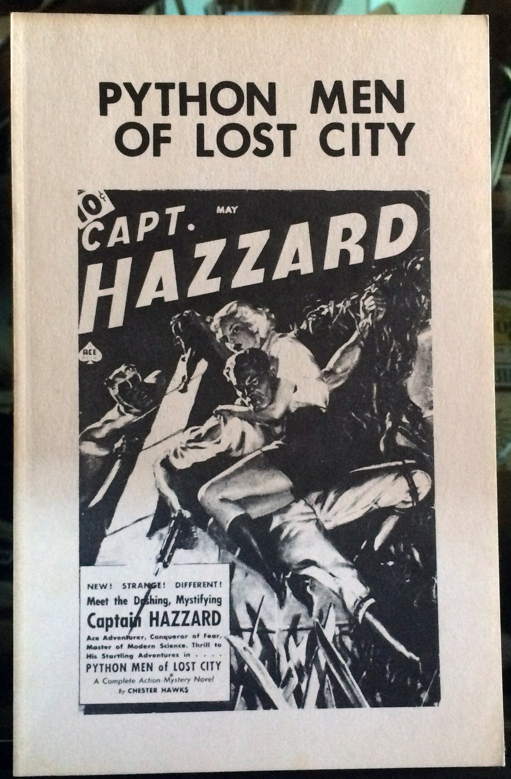 Python men of lost city (Pulp classics): Chester Hawks