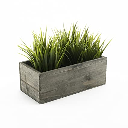 Amazon cys excel planter box wood planter wood rectangle cys excel planter box wood planter wood rectangle window box wood planters with removable workwithnaturefo