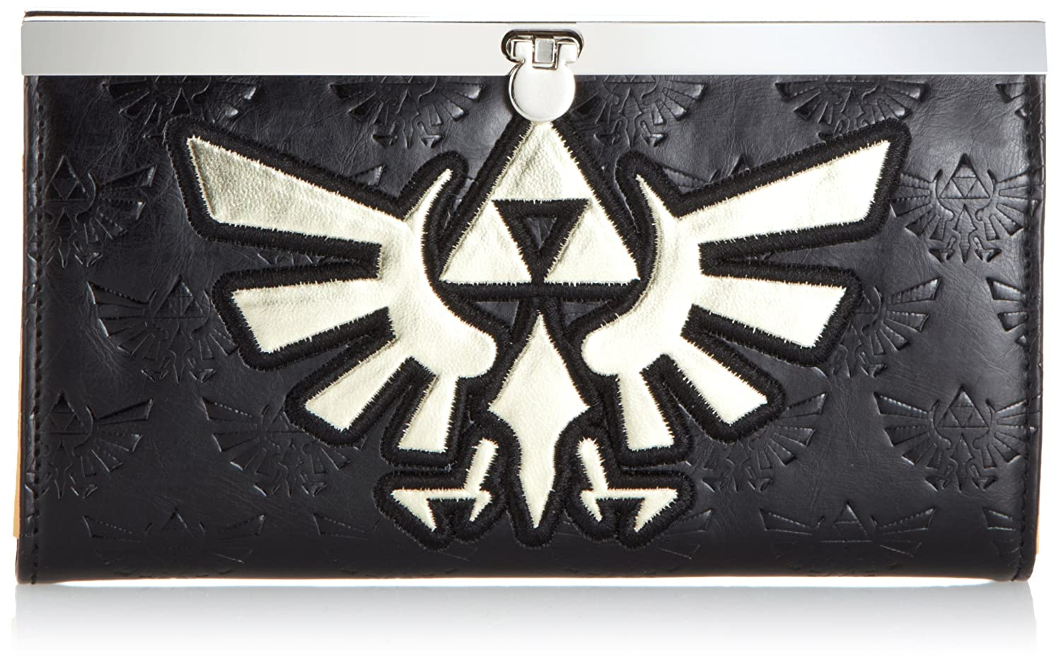 Portefeuille 'The Legend of Zelda' - Zelda gold logo + Girlds Wallet BioWorld GW169641NTN