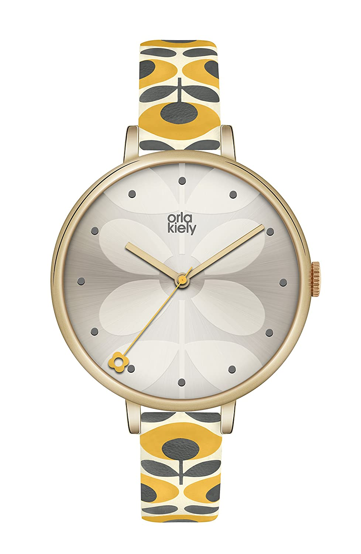 Orla Kiely Damen-Armbanduhr OK2136