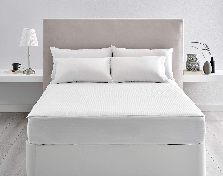 Pikolin Home - Funda de Colchón Cutí, 100% Algodón Satén, cama 90, 90 x 190 cm (Todas las medidas): Amazon.es: Hogar