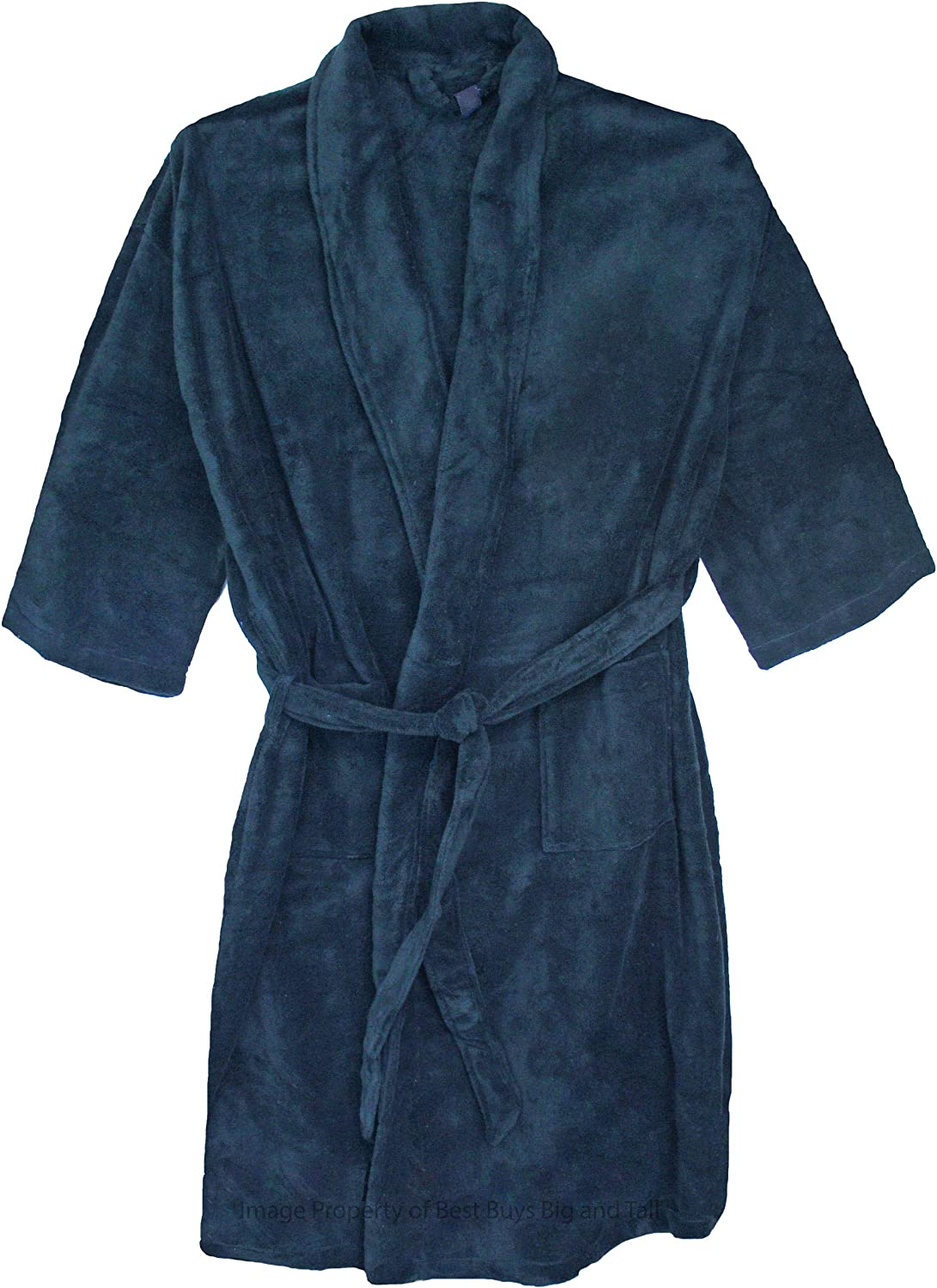 Foxfire Big Mens Plush Robe