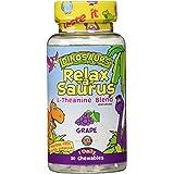 KAL Relax-a-Saurus Calming L-Theanine Blend 30 Grape Chewable Tablets
