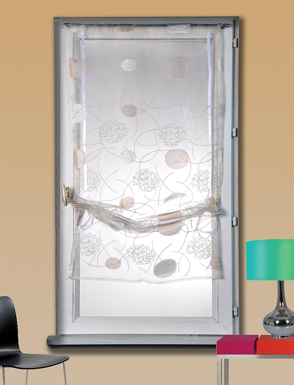 Home Maison HM69812712 - Tenda a vetro arricciabile in organza ...