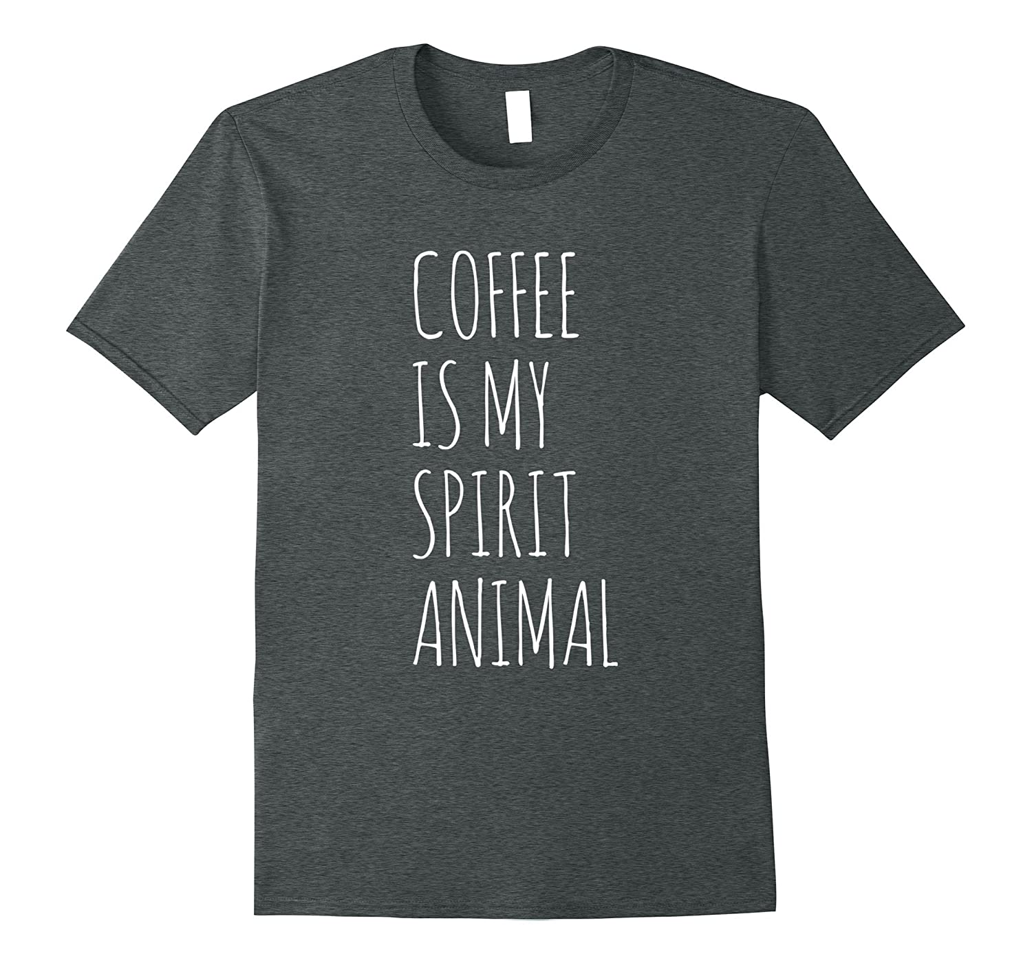 Coffee is my Spirit Animal Funny T-Shirt