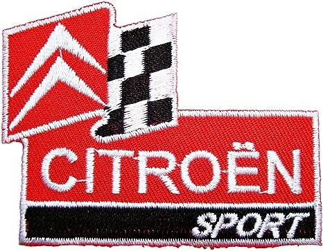 Parche bordado con logo de Citroen Sport para ropa de coche, 2.75 ...