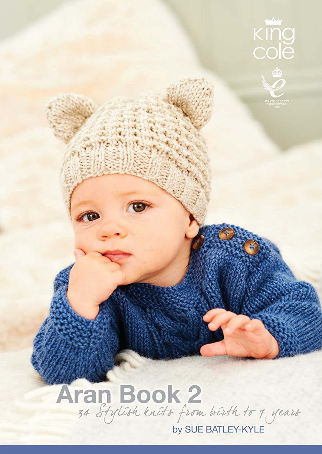 King Cole Knitting Pattern Baby Book 6 : 29 Stylish Knits From Birth ...