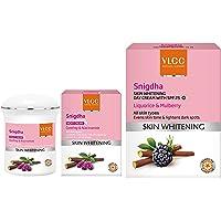 VLCC Snigdha Skin Whitening Night Cream, 50g and VLCC Snighdha Skin Whitening Day Cream, SPF 25, 50g