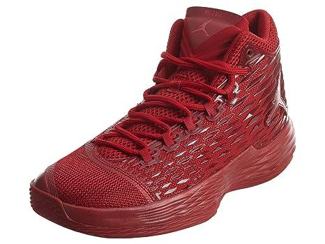 Nike Jordan Melo M13 Zapatillas Zapatillas Baloncesto Guantes Guantes para Hombre, Rot (Gym Red