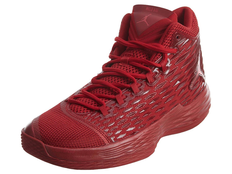hot sale online a5e75 78b23 Amazon.com   Jordan MELO M13 Mens Basketball-Shoes 881562-618 12 - Gym RED Gym  RED-Black   Basketball