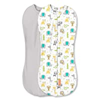 SwaddleMe Pod – Newborn Size, 0-2 Months, 2-Pack (Excursion )