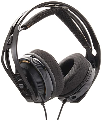 51e29914922 Amazon.com: Plantronics ‑ RIG 400 Over‑The‑Ear Headphones ‑ Black:  Computers & Accessories