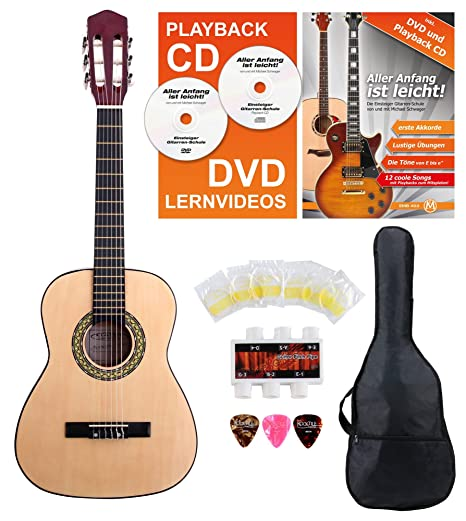 Classic Cantabile Acoustic Series AS-851-L guitarra clásica 1/2 ...