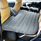 Vovoly Car Mattress Inflatable Travel Air Bed Cushion Camping with Two Air Pillows