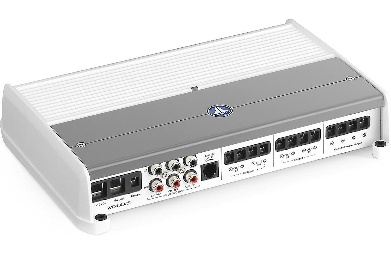 M700/5 - JL Audio 5 canales Amplificador de M-Series Marino Clase D: Amazon.es: Deportes y aire libre