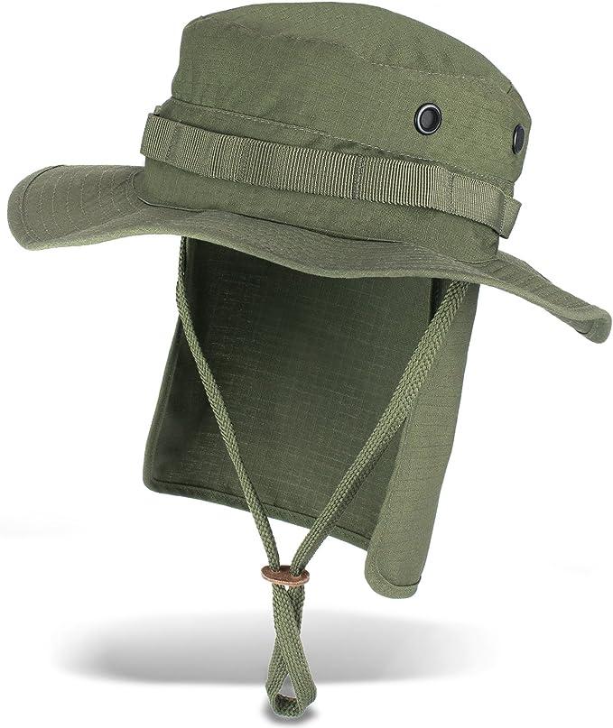 noorsk Outdoor Safari Casquette avec prot/ège-Nuque