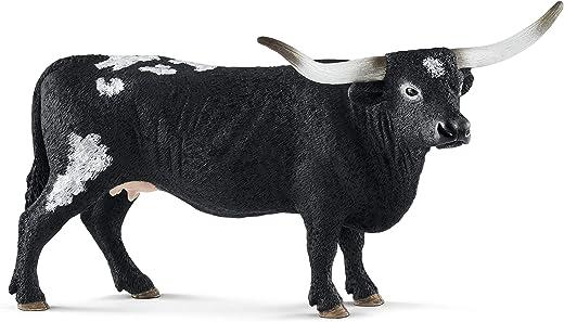 SCHLEICH Farm World, Animal Figurine, Farm Toys for Boys and Girls 3-8 Years Old, Texas Longhorn Cow